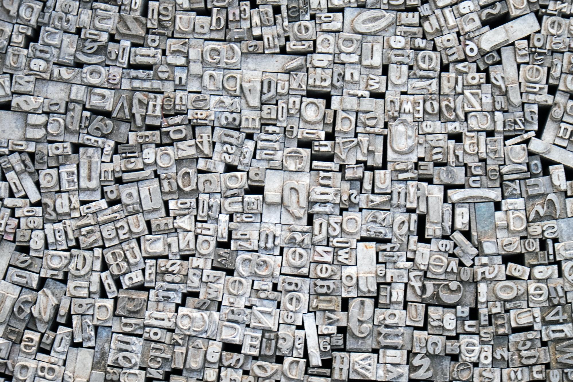 Imprimerie typographie