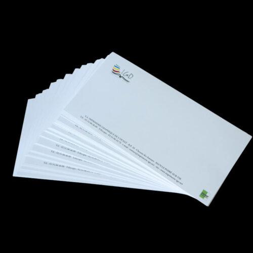 Impression carte de correspondance en Vendée