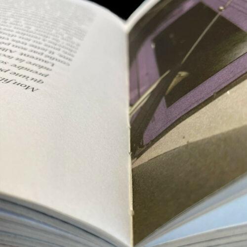 Finitions dos carré collé cousu livre édition