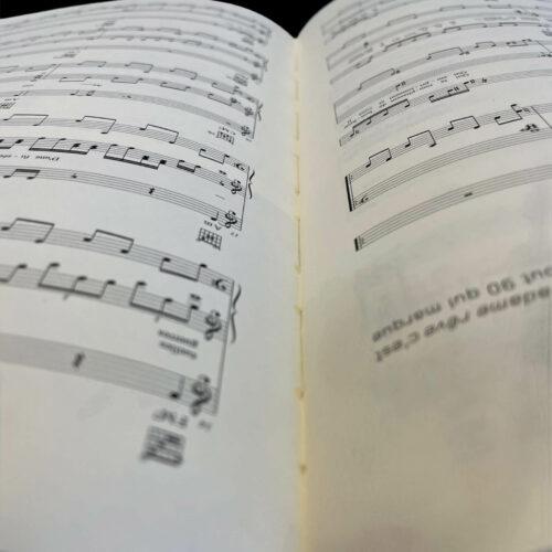 Impression de partition musicale en Vendée