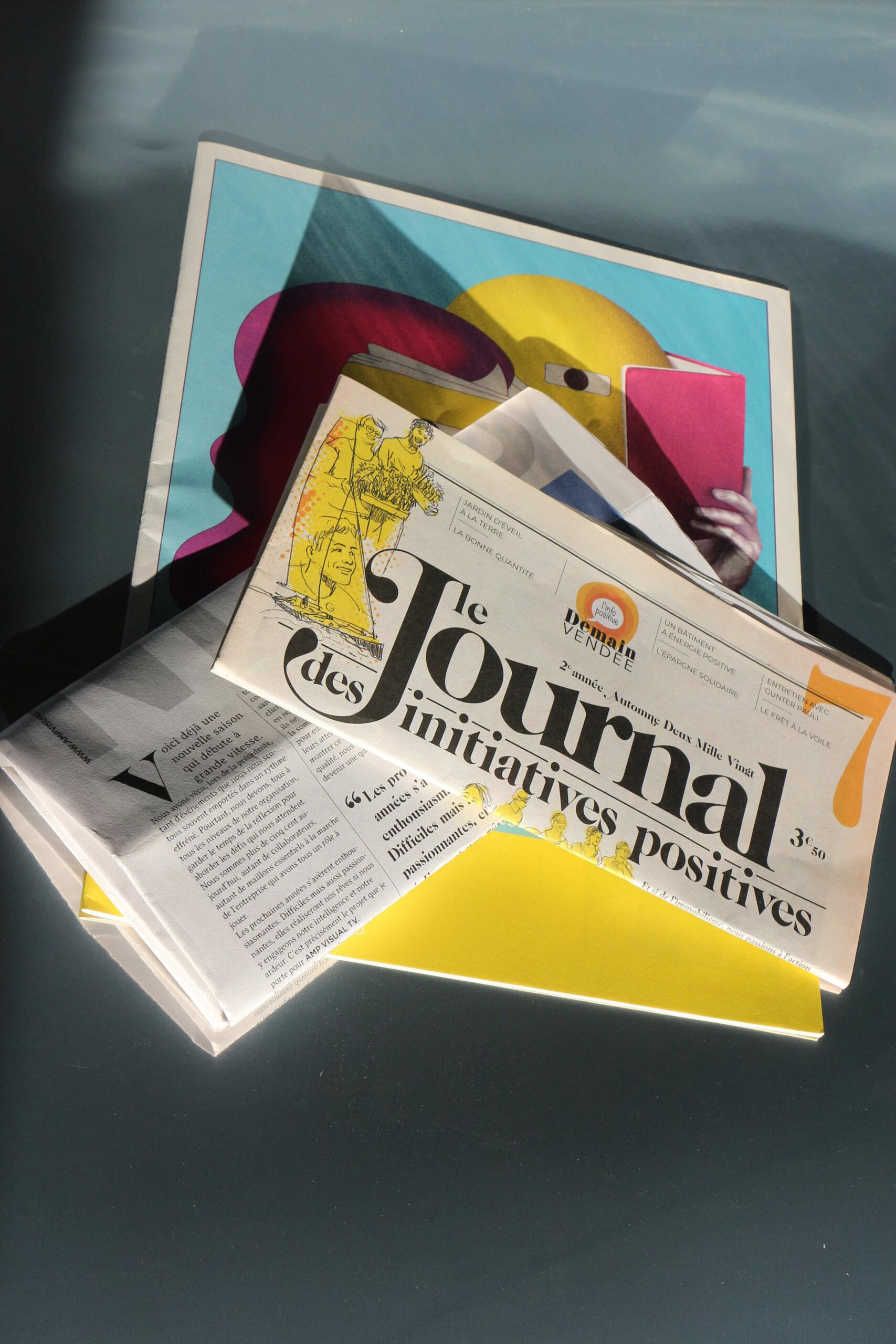 Impression journaux en Vendée
