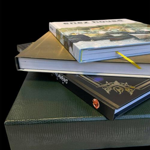 Impression Livre édition de prestige reliure BD