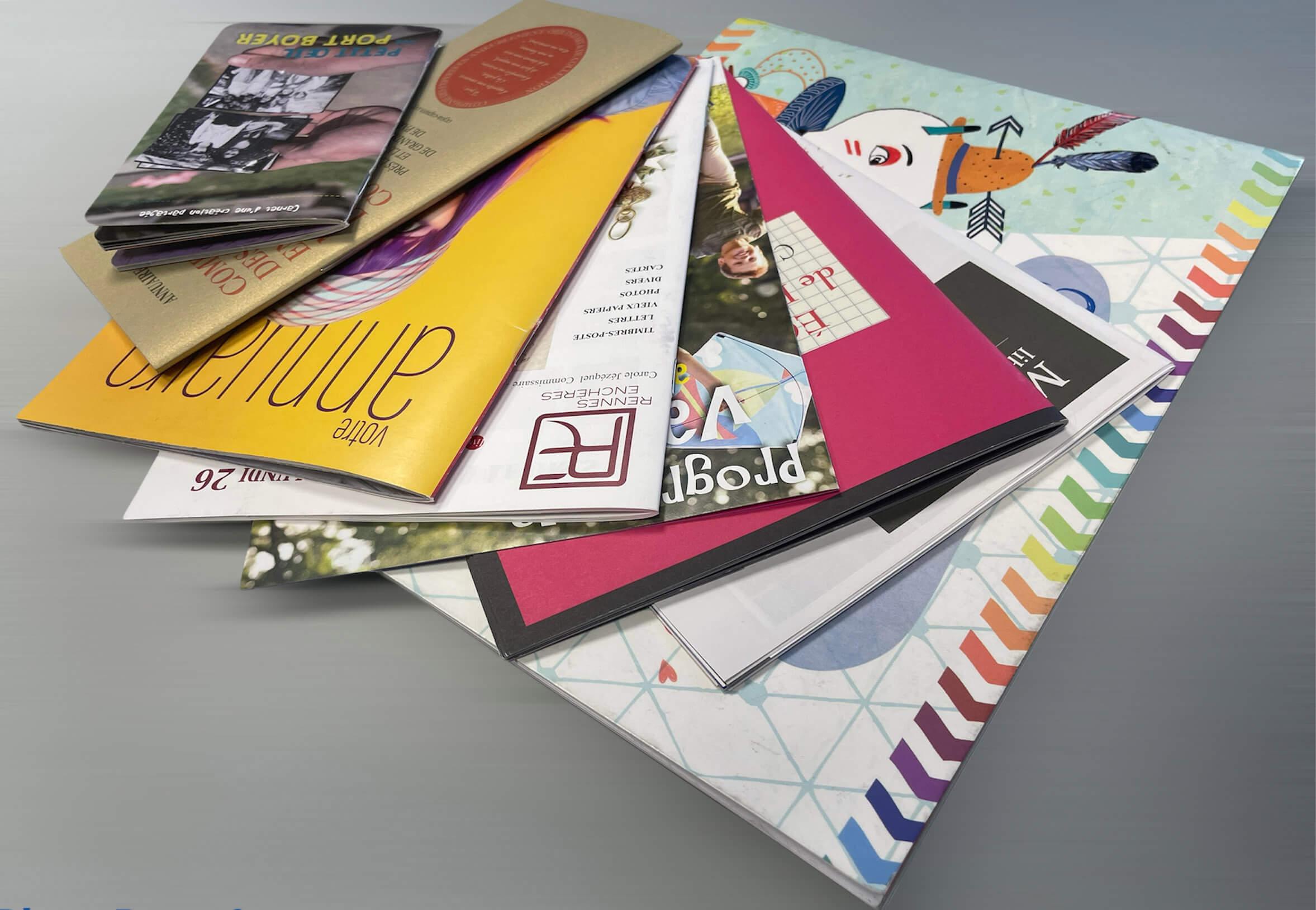 Impression brochures, revues en Vendée
